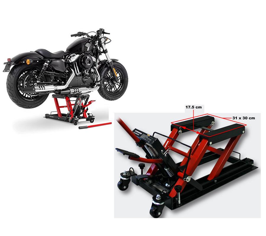 pont l vateur pour moto quad scooter 680kg. Black Bedroom Furniture Sets. Home Design Ideas