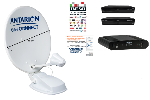 Antarion Kit Antenne satellite  85cm G6+ CONNECT TWIN TNT SAT