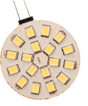 Antarion Ampoule led G4 18 leds blanc froid