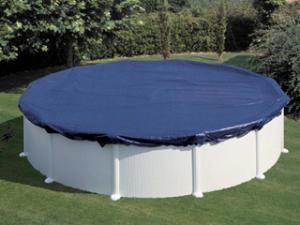 Bache de piscine ronde diametre 4 20m chez for Bache piscine ronde