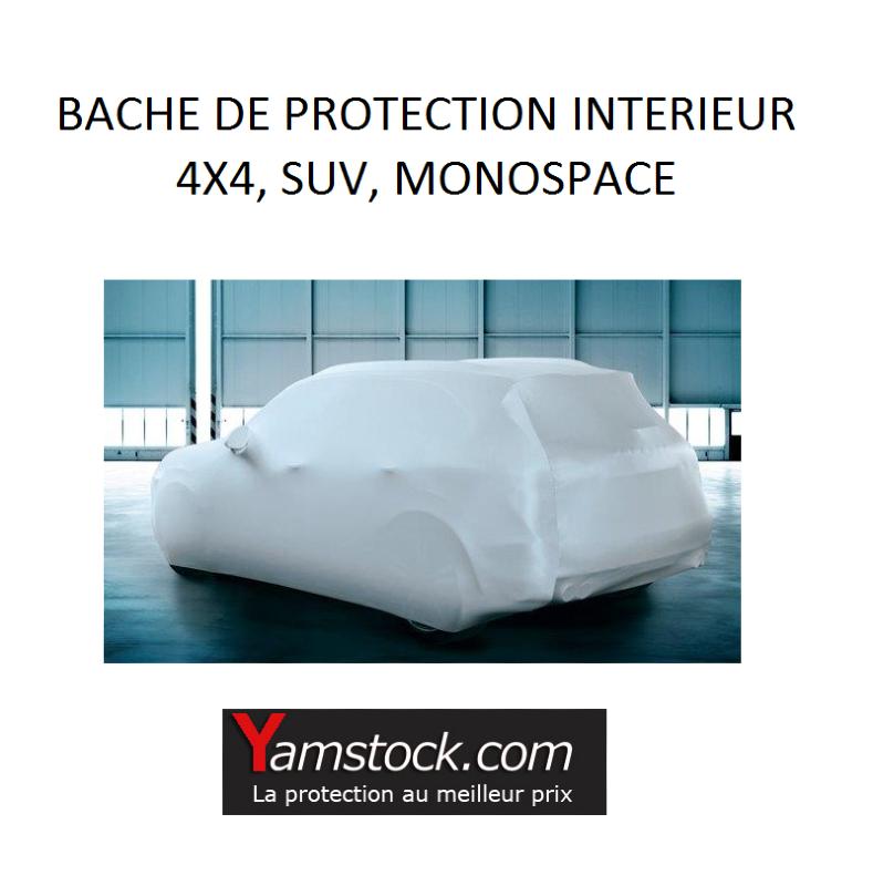 housse de protection voiture velours 4x4 463x173x143 cm. Black Bedroom Furniture Sets. Home Design Ideas