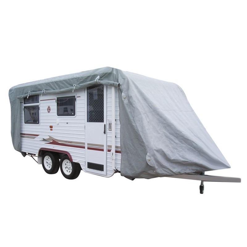 bache de protection pour caravane 400x230x200cm. Black Bedroom Furniture Sets. Home Design Ideas