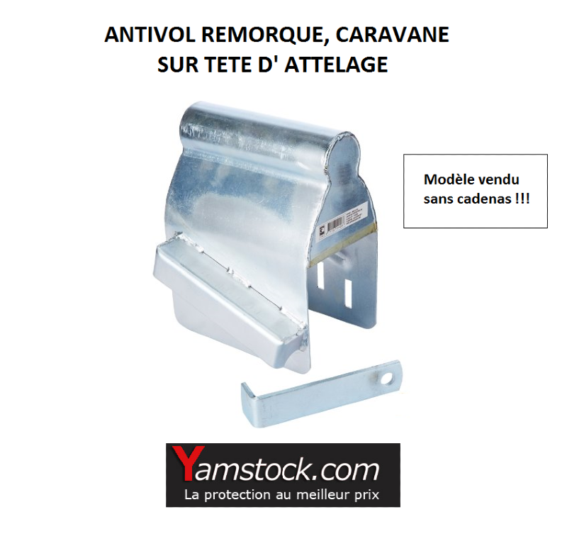 antivol caravane remorque discount pas cher. Black Bedroom Furniture Sets. Home Design Ideas