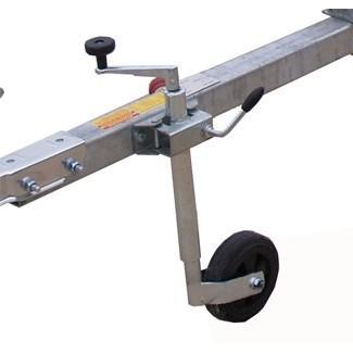 roue jockey diam 35mm collier pour remorque caravane. Black Bedroom Furniture Sets. Home Design Ideas