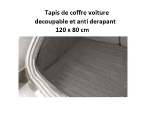 Tapis De Coffre Pvc 120x80 Cm Decoupable