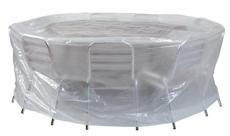 Housse de protection pour table chaises ronde chez for Housse de chaise ronde