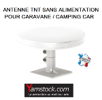 Antenne TNT camping car / caravane OMNIPRO
