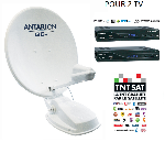 Kit Antenne satellite Automatique ANTARION 72 cm G6+ TWIN
