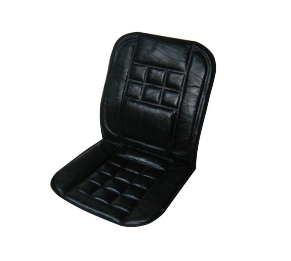 couvre siege de voiture auto en cuir noir. Black Bedroom Furniture Sets. Home Design Ideas
