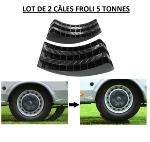 Cales arrondies FROLI 5 Tonnes camping-car