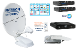 Kit Antenne satellite ANTARION 72 cm G6+ CONNECT TWIN FRANSAT