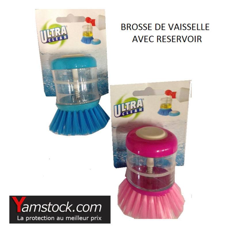 brosse vaisselle avec r servoir savon. Black Bedroom Furniture Sets. Home Design Ideas