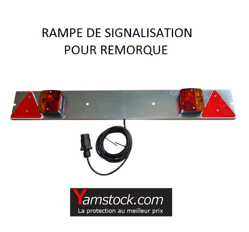 rampe de signalisation pour remorque de 1m cable de 4 m tres. Black Bedroom Furniture Sets. Home Design Ideas