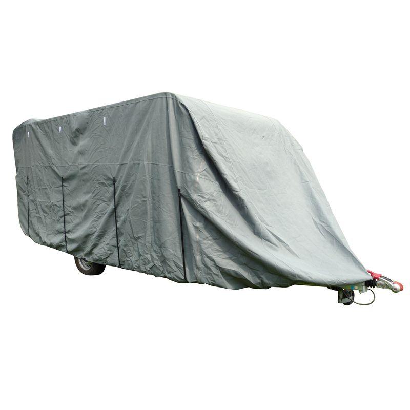 bache de protection pour caravane 710x250x220cm pas cher discount yamstock bache pour caravane. Black Bedroom Furniture Sets. Home Design Ideas