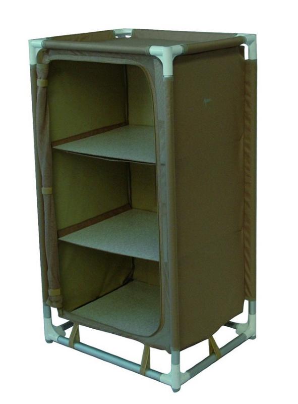 armoire de rangement 3 etageres camping. Black Bedroom Furniture Sets. Home Design Ideas